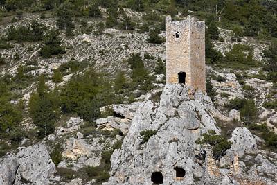 Guarding ruins