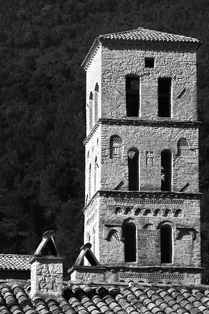 Romanesque tower
