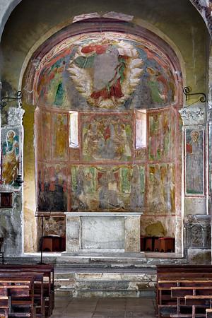Apse frescoes