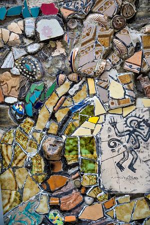 Chaotic mosaic