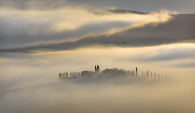 Raging mists over Poggio Covilli