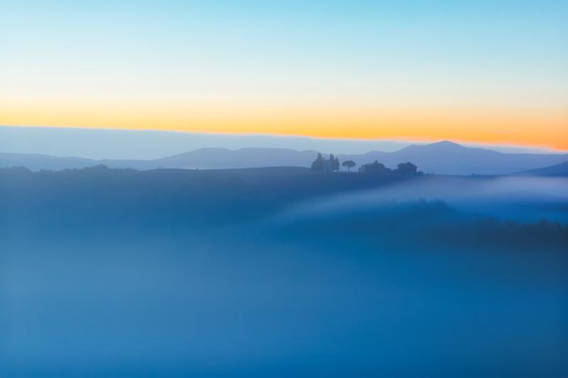 Pre-dawn Blue Light