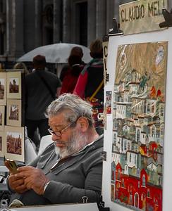 Claudio Meli - Piazza navona Artist