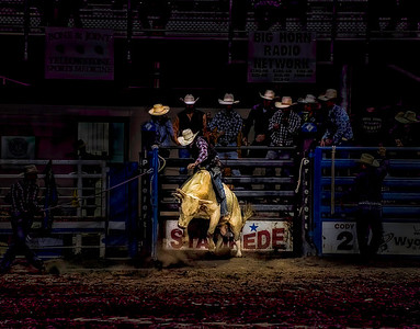"""The Bull Rider"" (photography) by Jason Levi"