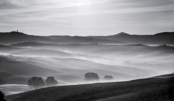 """Val d""""Orcia 2016 (B&W)"""
