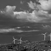 Wind towers between two seas (Ionio and Tirreno)
