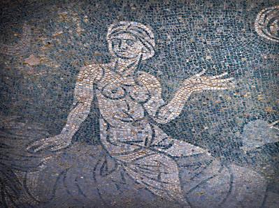 Mosaic girl