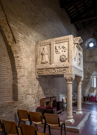 12c pulpit by maestro Acuto