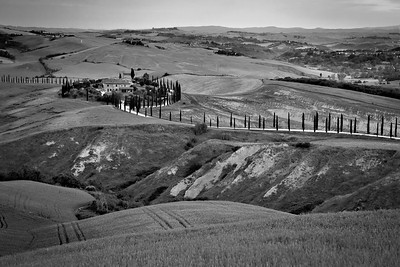 Tuscany - Monochrome 2017