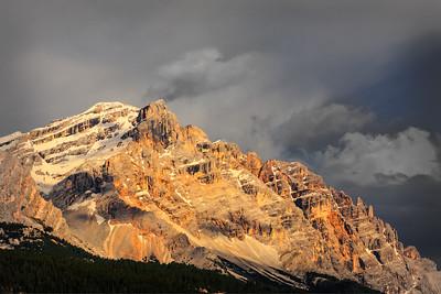 Western slopes at sunset