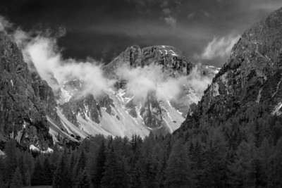 Dolomiti - Seen in Monochrome 2018