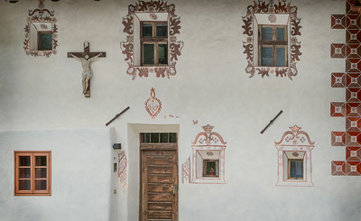 Painted facade
