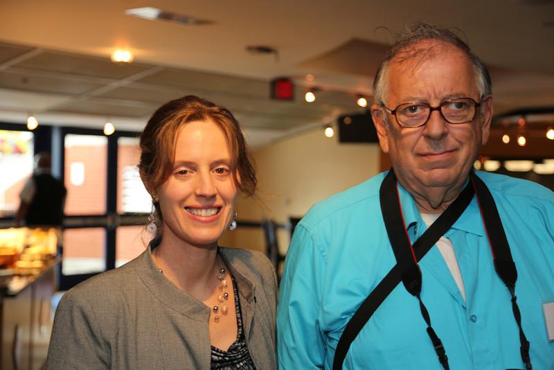 Photography for Social Change Founder Linda Panetta with Photographer David Kopena