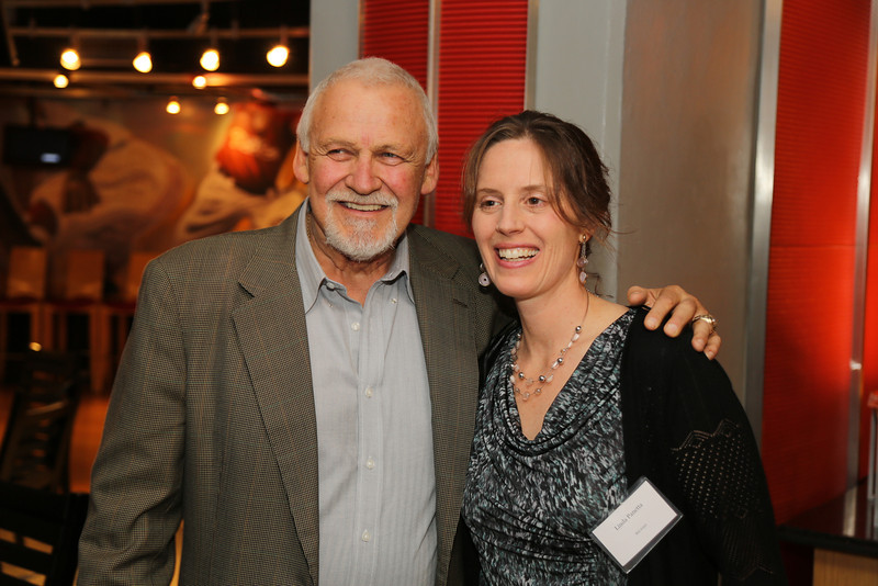 Bernie Parent and Linda Panetta