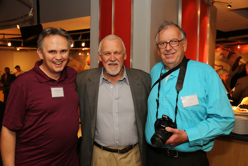 William Podemic, Bernie Parent and David Kopena