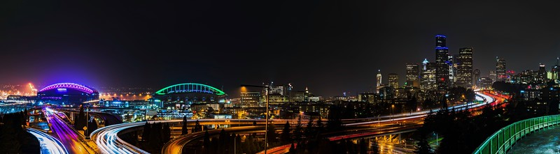 Seattle skyline from Jose Rizal Bridge