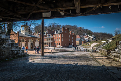 Harper's Ferry WV - John Brown's Fort (left)