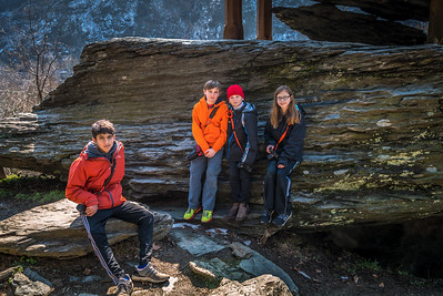My Photography Students - at Jefferson Rock.