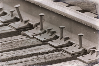 Railroad spikes