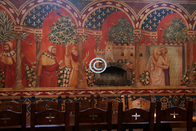 Italian Frescoes in the Great Hall
