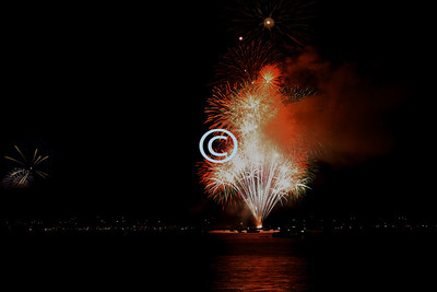 Fire Popping Sausalito Fireworks