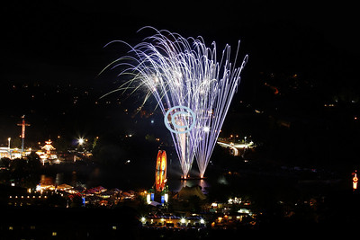 Marin County Fair Fireworks 2012