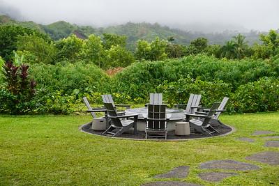 Sitting Out A Short Tropical Rain