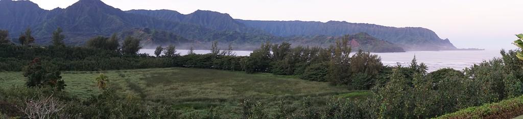 Hanalei Bay, Napali Coast