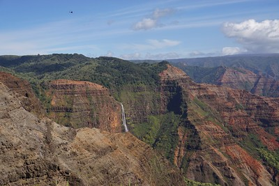 Waipo'o Falls Canyon