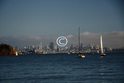 Blue San Francisco Bay