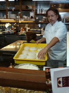 Ca' Momi Restaurant at the Marketplace...cooking demo. http://www.camomienoteca.com/