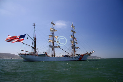 USCGC EAGLE...Homeport: New London, Connecticut, Germany