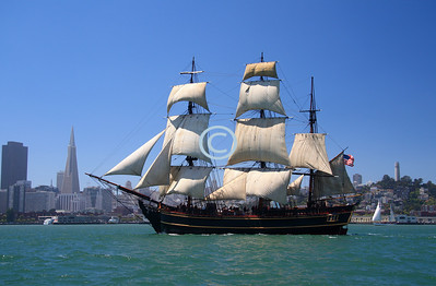 Bounty was also used in a documentary for the History Channel on Queen Anne's revenge.