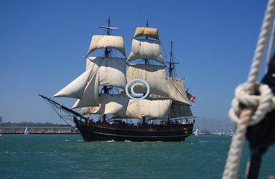 The Bounty had a starring role in Disney's Pirates of the Caribbean II.