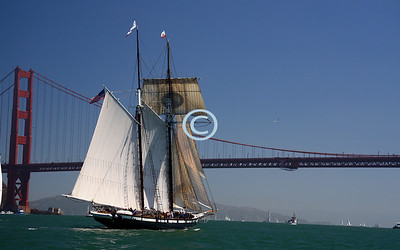 Next the The California...one of the most well known tall ships in America.