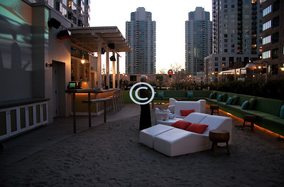The W, Beach Roof Top Lounge