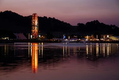 Lilac Marin County Fair Sunset