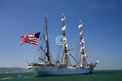 Eagle Sail US Coast Guard Tall Ship