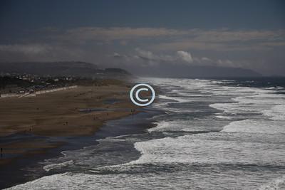 Beach Waves Ocean Beach, San Francisco, Pacific