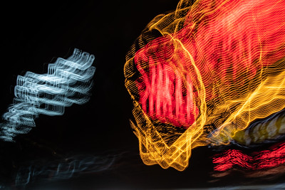 Shell Light Painting