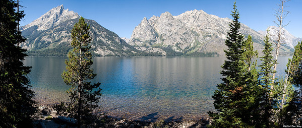 Jenny Lake and Tetons