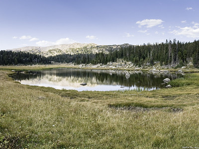 Beartooth Highway- One of Three Lakes 4982-86