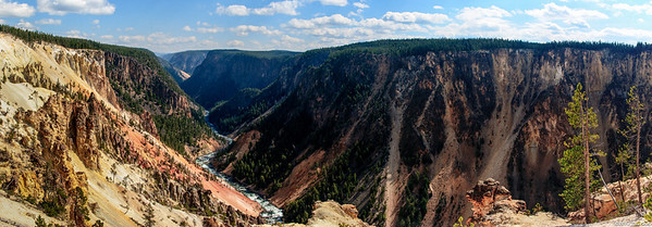 Grand Canyon of Yellowstone 5647-5654