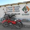 Las motos de los Guardias de la Salar de Uyuni