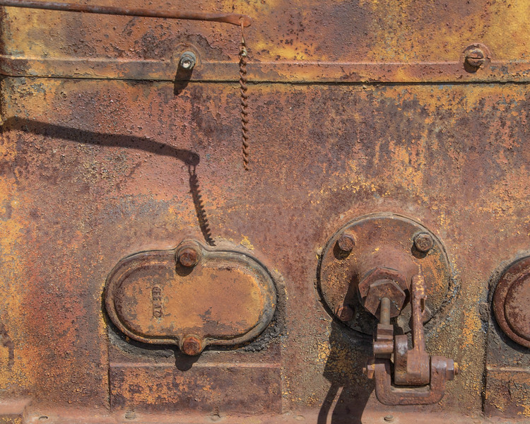 Old Tractor Closeup