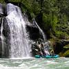 Rafter at Paradise Falls