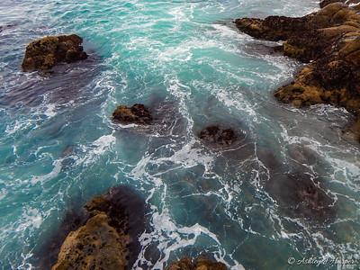ocean stepping stones