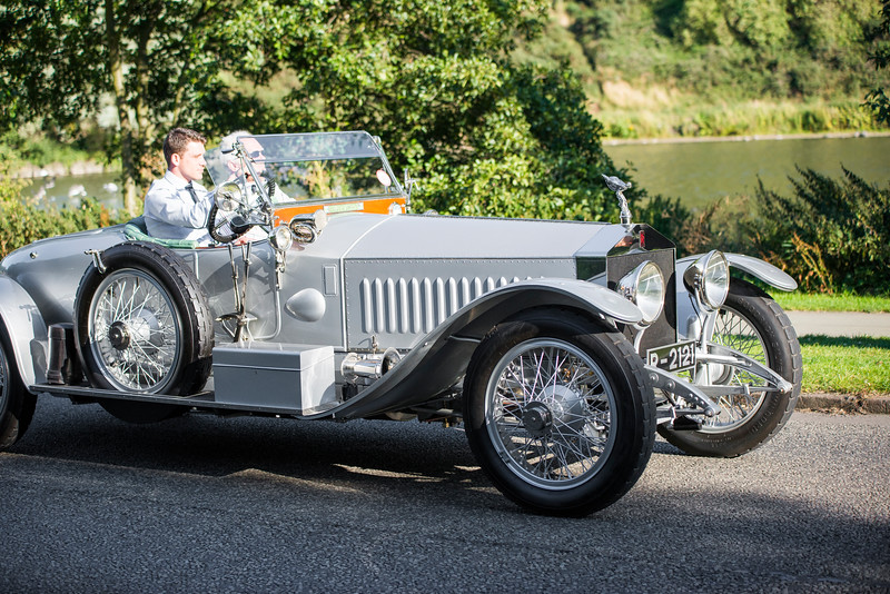 1912 Rolls-Royce Silver Ghost Grosvenor London to Edinburgh