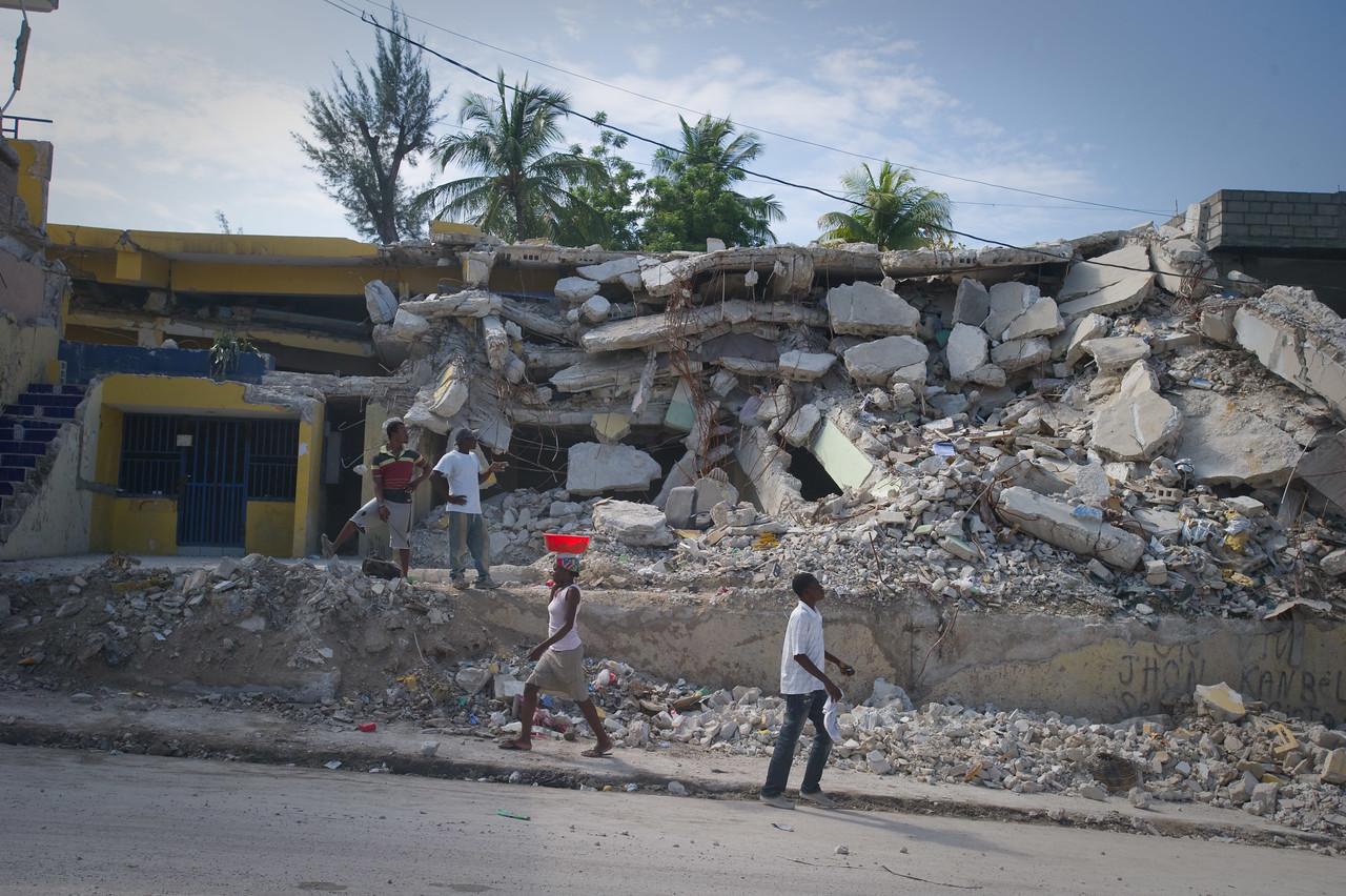 Port Au Prince, Haiti.  Wednesday, June 30, 2010.
