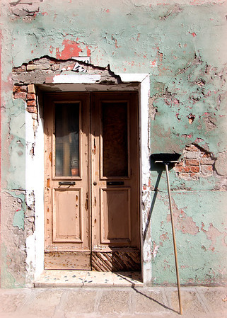 """""""A Clean Entrance""""<br /> Burano, Italy<br /> July 2011"""